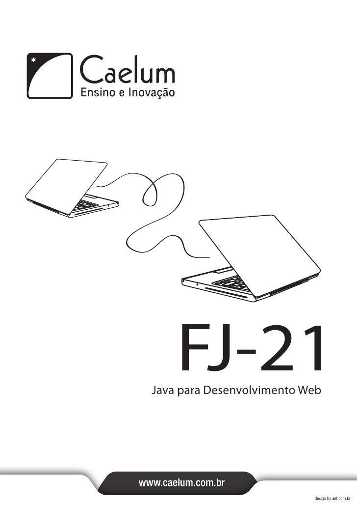 Java web fj21-- apostila da caelum