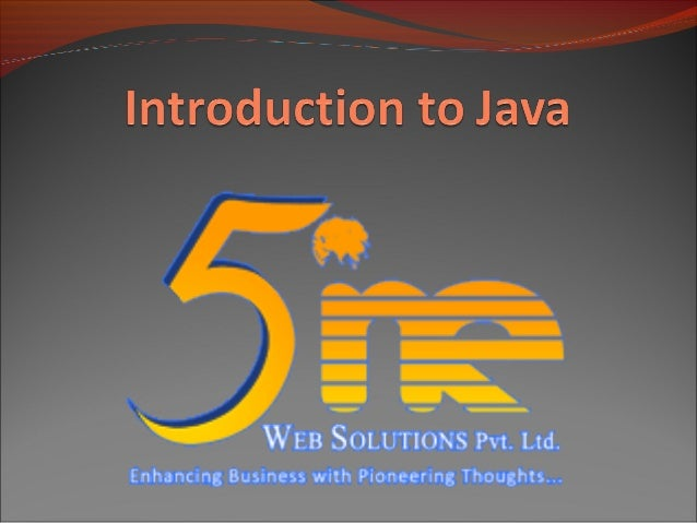 Introduction Present the syntax of Java Introduce the Java API Demonstrate how to build stand-alone Java programs Jav...