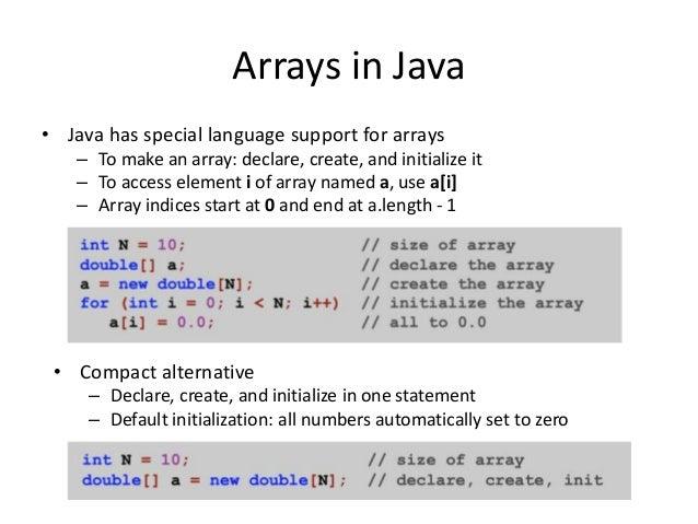 Java 103