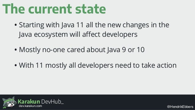 java 11 changes
