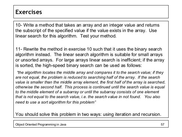 Data Structure and Algorithms Binary Search
