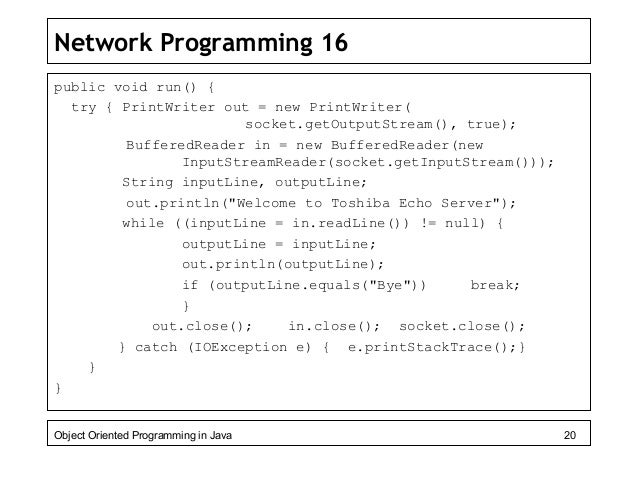 Advanced Java Topics