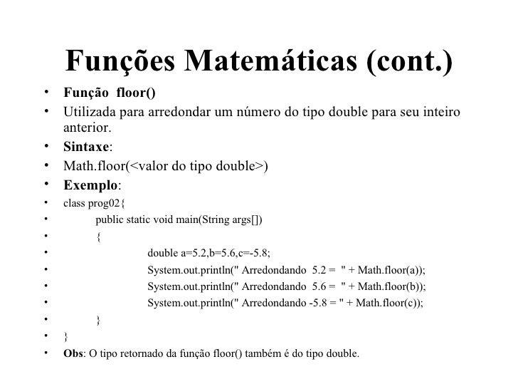 ... Math Ceil Floor Java By Java4 ...