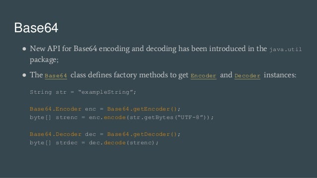 Java 7 & 8 New Features