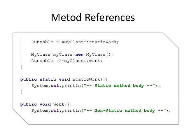 Metod References