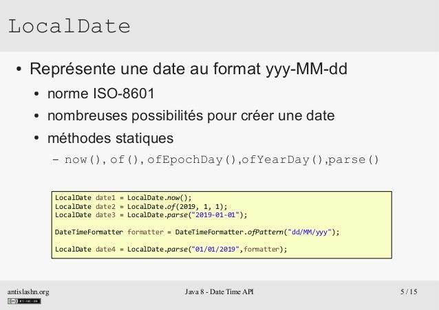 Java 8 - DateTime