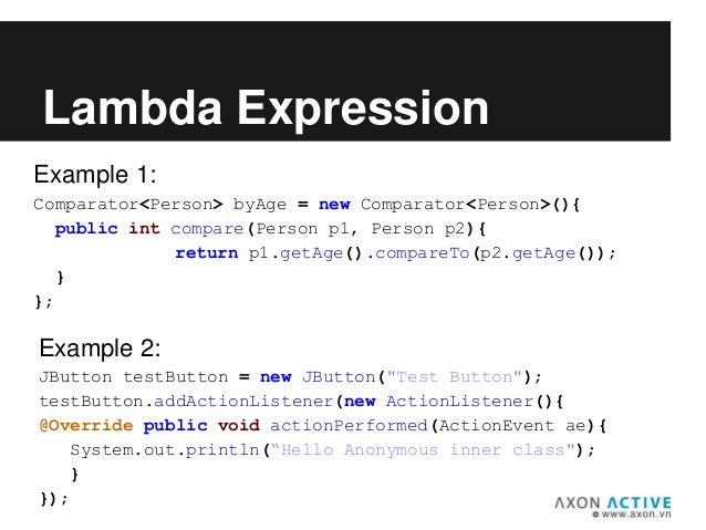 Java 8 Presentation