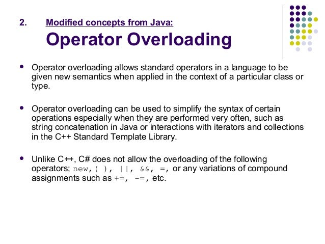 Difference between Java and c#