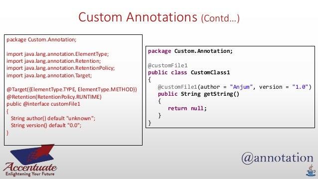 Creating Annotations in Java - DZone Java