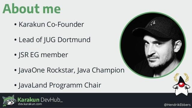 Java APIs - the missing manual Slide 3