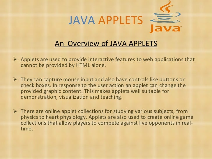 java applet checkpoint We were earlier using qtp 11 with jre 160_27 at that time it was able to  identify objects on java applet but now application is not supporting.