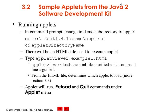 how to run applet program