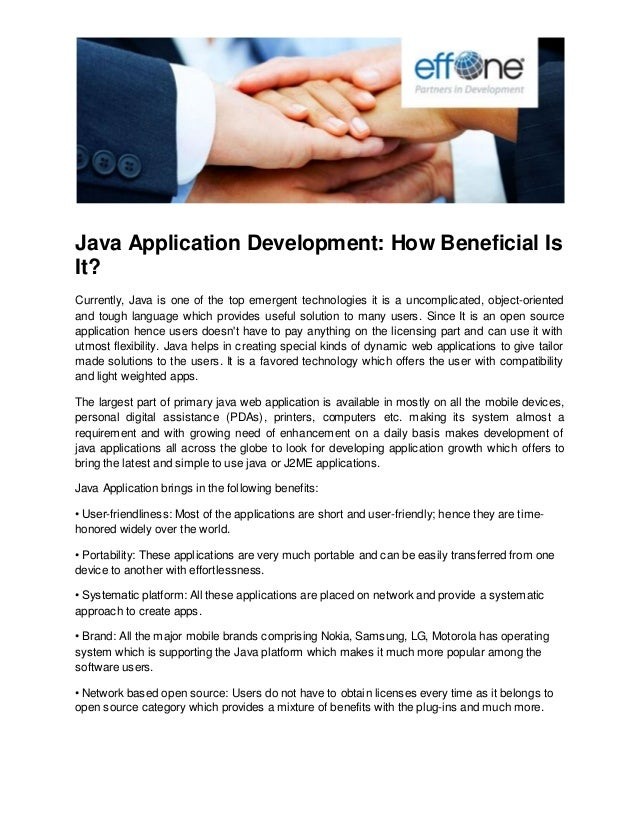 Java Application Development: How Beneficial Is It?
