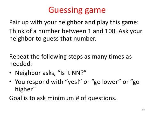 guessing game java