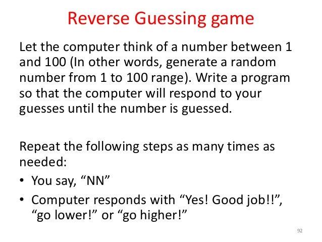 9 — Random number generation