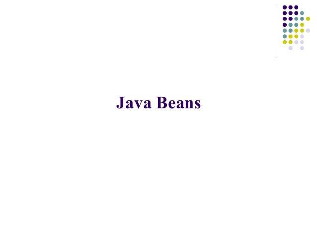 java beans ppt  software