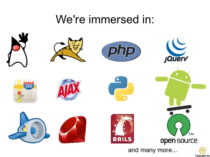 Were immersed in:             and many more...