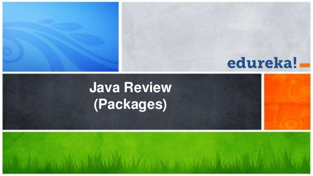 Java Review (Packages)
