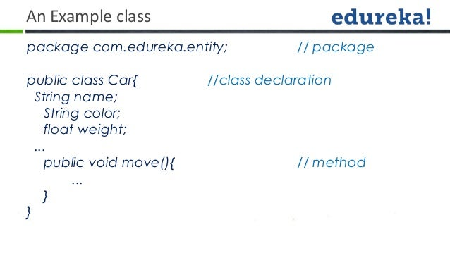 Classes, objects in java.
