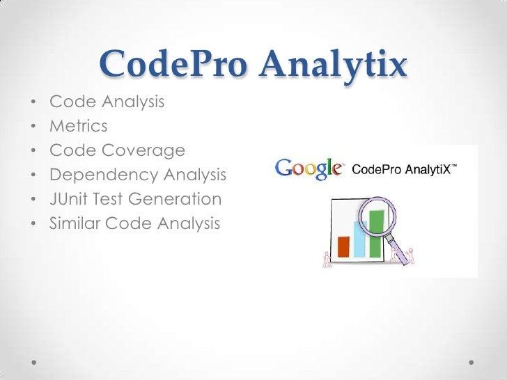 codepro analytix
