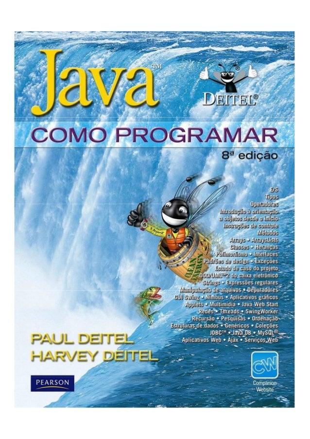 Java como progamar 8º edição