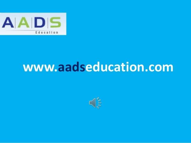www.aadseducation.com