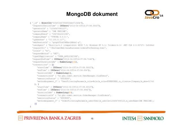 MongoDB dokument 15