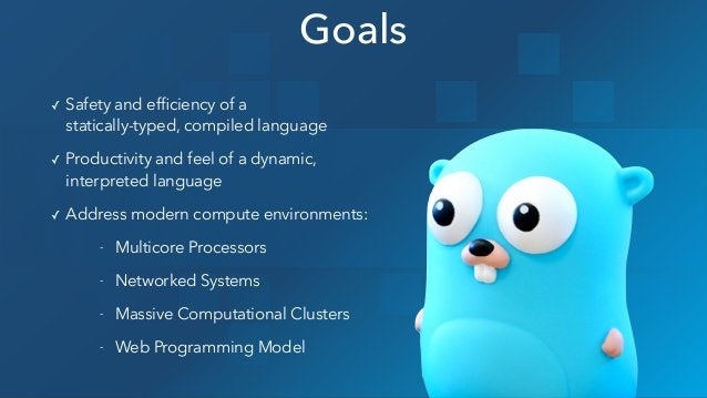 ✓ Safety and efficiency of a statically-typed, compiled language ✓ Productivity and feel of a dynamic, interpreted langua...