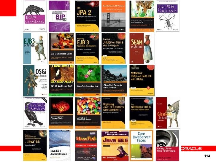 Books on GlassFish                          114