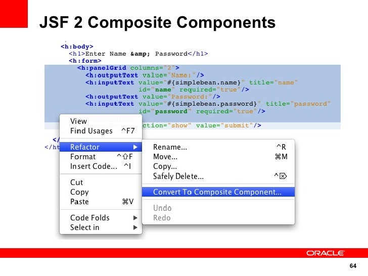 JSF 2 Composite Components                                  64