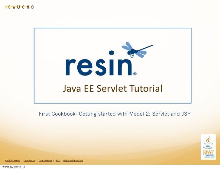 Java EE Servlet Tutorial                                                          First Cookbook- Getting started wi...