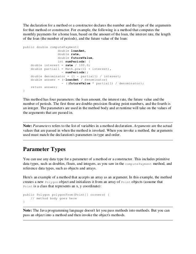 Java Execise