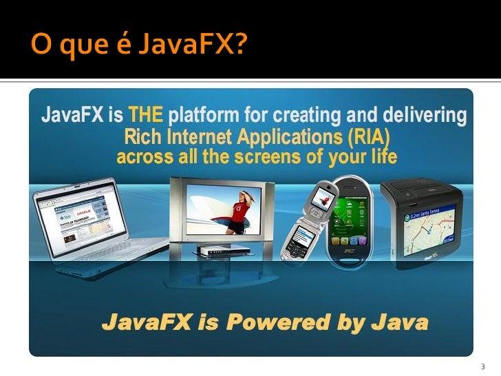 JavaFX 1.2 Slide 3
