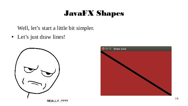 Drawing Lines In Javafx : Javafx in action part i
