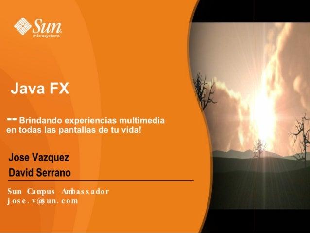 JavaFX by Vzqz&Folken