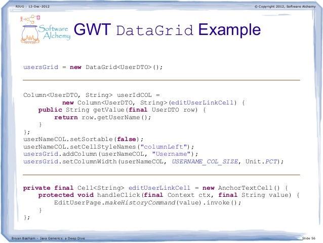 how to return generic type in java