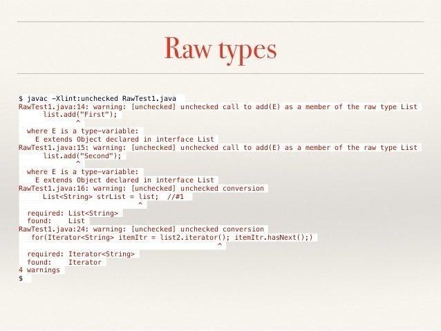 Java Generics By Example