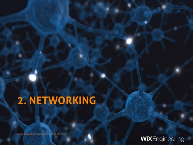 2. NETWORKING Image: Neurons by Birth Into Being (CC BY-NC-SA 2.0)
