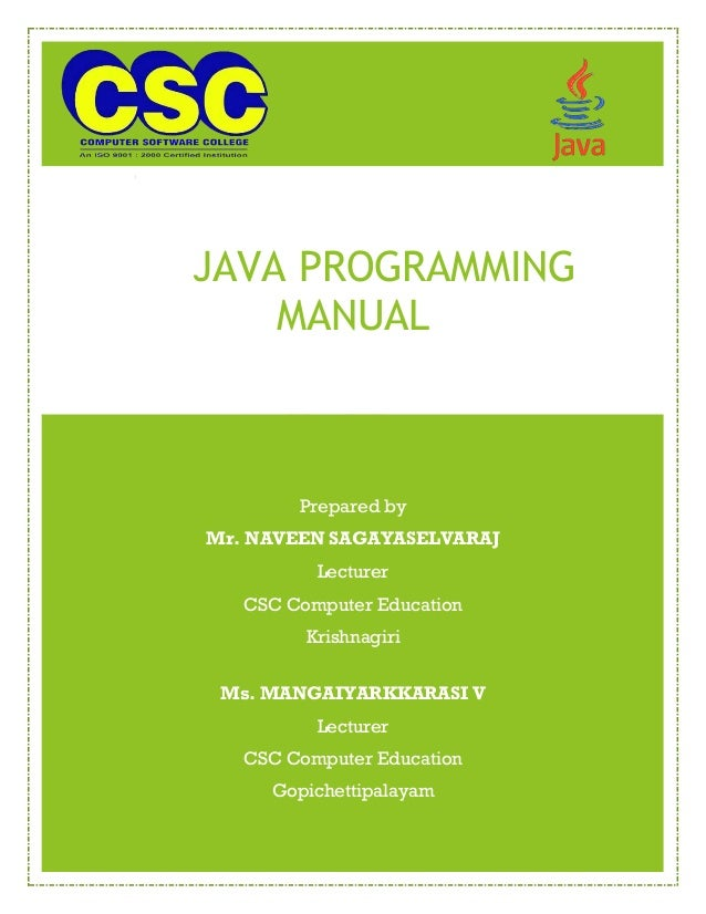 java lab manual rh slideshare net java lab manual for cse java lab manual jntu
