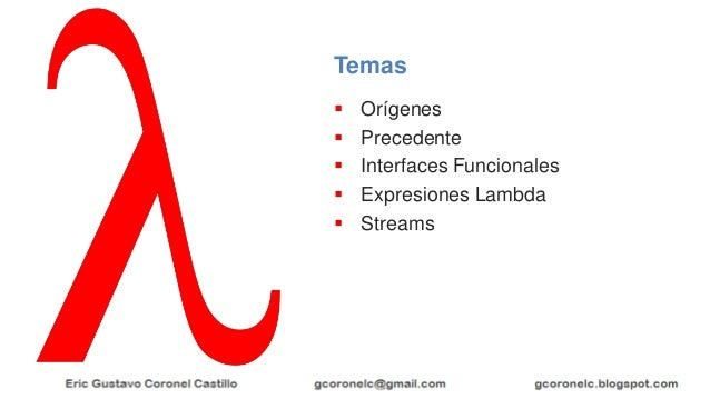 Java Lambda Slide 2