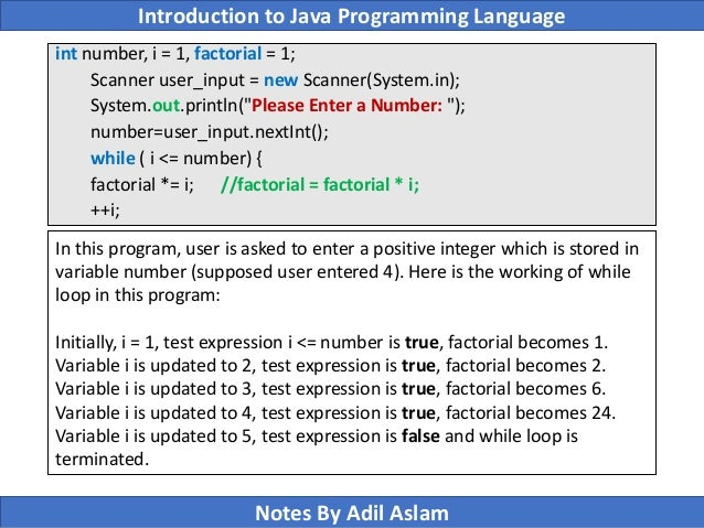 Write a program to find the factorial of a number in pl sql