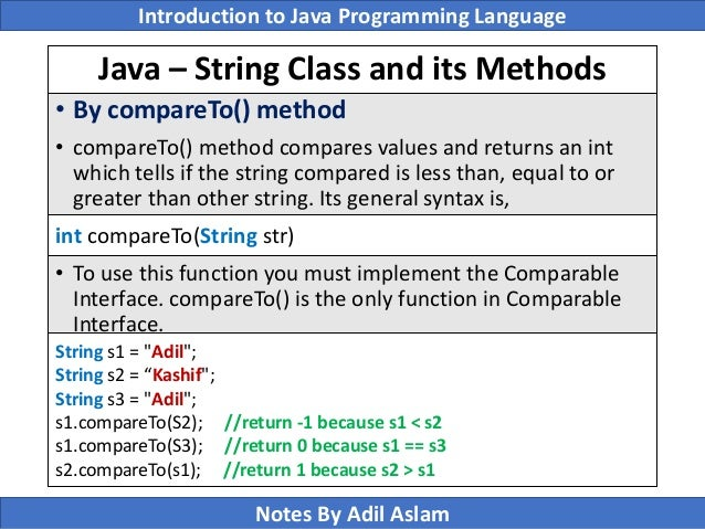 Introduction To Java Programming Lecture No 7
