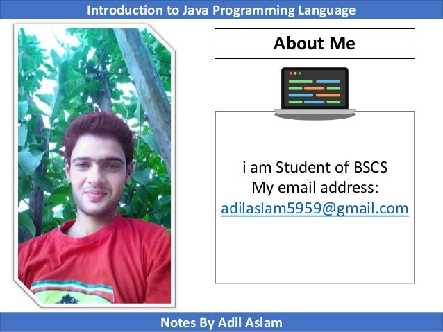 Introduction To Java Programming Lecture No. 11 Slide 2