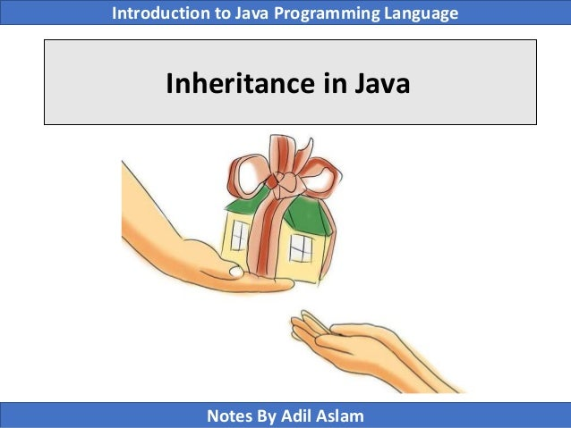 Introduction To Java Programming Lecture No. 11 Slide 3