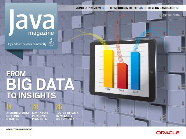 Java magazine from big data to insights