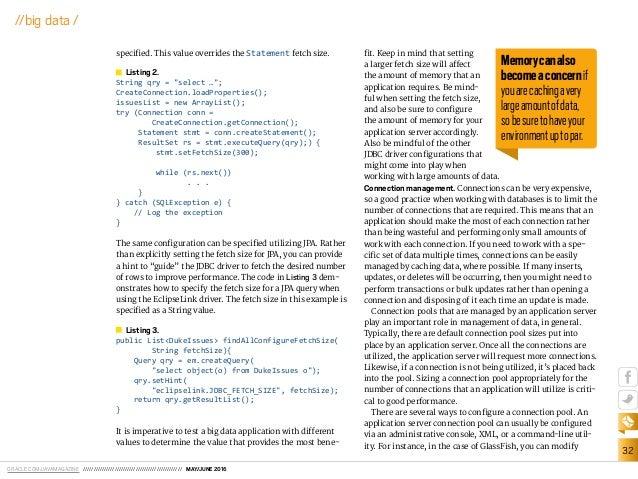 Java magazine from big data to insights