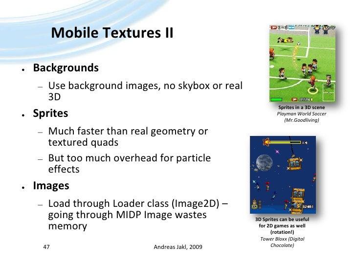 Java ME - 08 - Mobile 3D Graphics