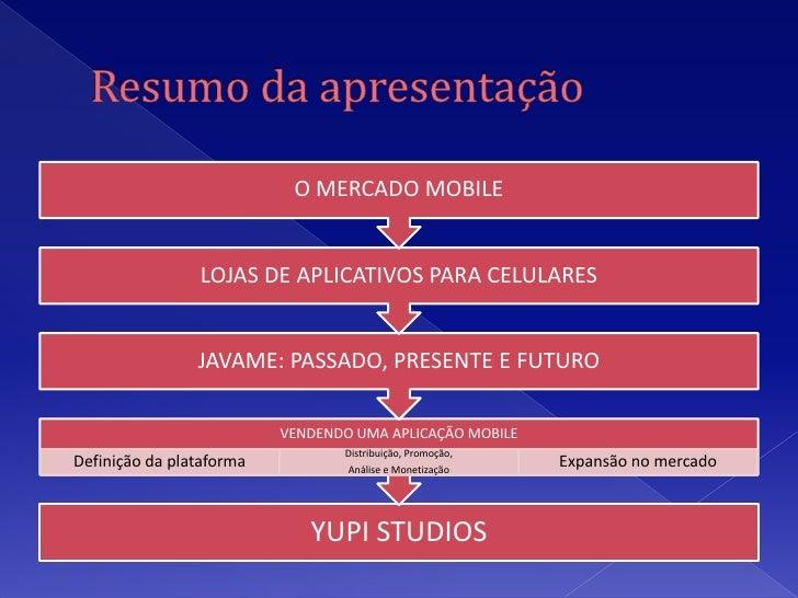 JavaME no Mercado Mobile Slide 2
