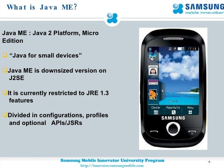 Java Platform Micro Edition