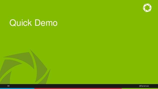 Quick Demo  59 @Dynatrace